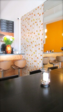Bright colors create a cheerful atmosphere